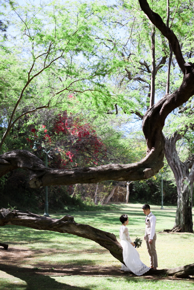 Hawaii カピオラニ公園 Better Half ベターハーフ Keico ケイコ